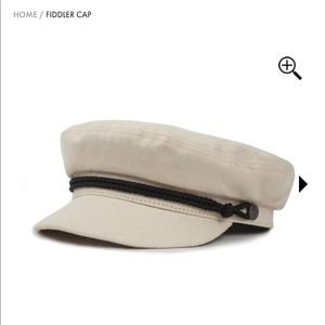 Brixton Fiddler Cap - Off White